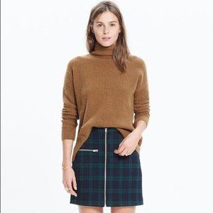 Madewell Wafflestitch Turtleneck Sweater